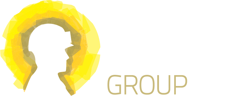 Gold Industry Group Reversed Close Logo
